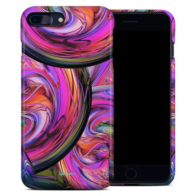 Apple iPhone 7 Plus Clip Case - Marbles