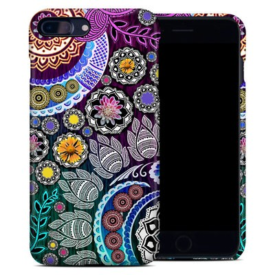 Apple iPhone 7 Plus Clip Case - Mehndi Garden