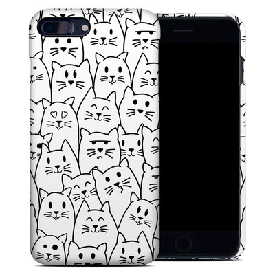 Apple iPhone 7 Plus Clip Case - Moody Cats