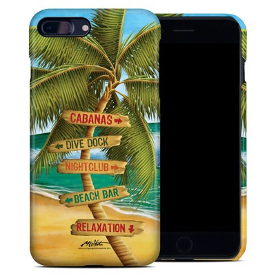 Apple iPhone 7 Plus Clip Case - Palm Signs