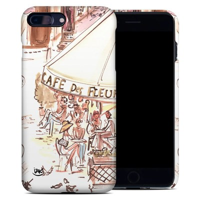 Apple iPhone 7 Plus Clip Case - Paris Makes Me Happy