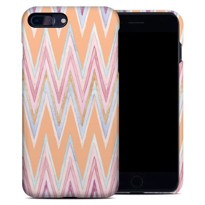 Apple iPhone 7 Plus Clip Case - Pastel Chevron