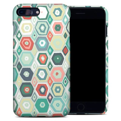 Apple iPhone 7 Plus Clip Case - Pastel Diamond