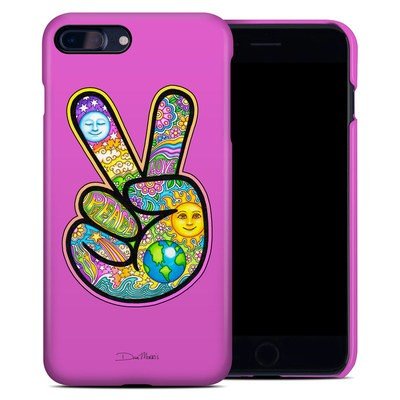 Apple iPhone 7 Plus Clip Case - Peace Hand