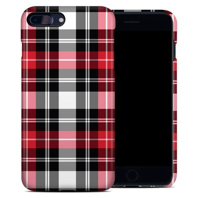 Apple iPhone 7 Plus Clip Case - Red Plaid