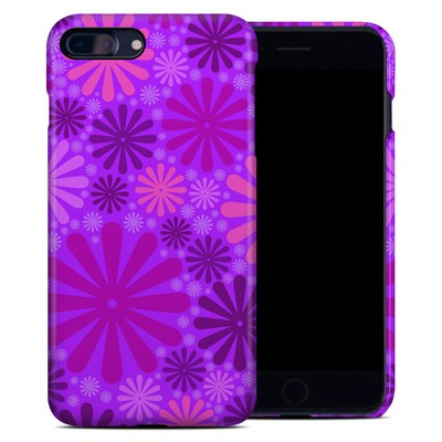 Apple iPhone 7 Plus Clip Case - Purple Punch