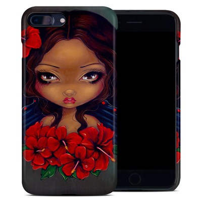 Apple iPhone 7 Plus Clip Case - Red Hibiscus Fairy