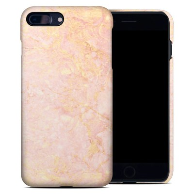 Apple iPhone 7 Plus Clip Case - Rose Gold Marble