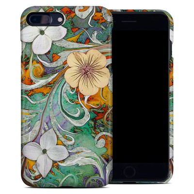 Apple iPhone 7 Plus Clip Case - Sangria Flora