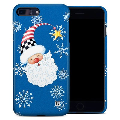 Apple iPhone 7 Plus Clip Case - Santa Snowflake