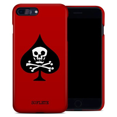 Apple iPhone 7 Plus Clip Case - SOFLETE Red Logo