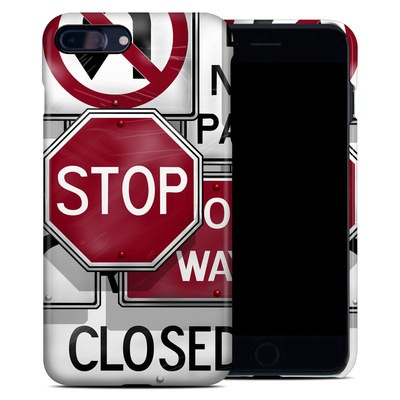 Apple iPhone 7 Plus Clip Case - Signs