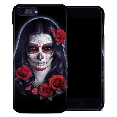 Apple iPhone 7 Plus Clip Case - Sugar Skull Rose