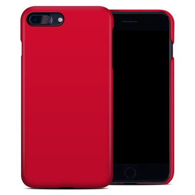 Apple iPhone 7 Plus Clip Case - Solid State Red