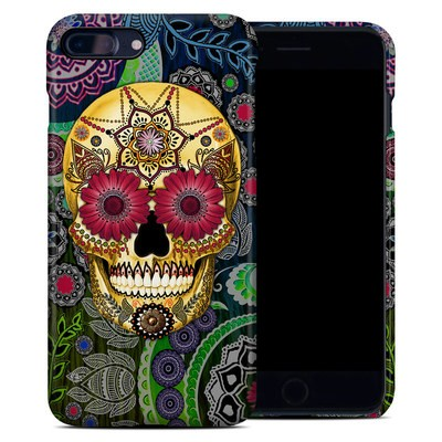 Apple iPhone 7 Plus Clip Case - Sugar Skull Paisley