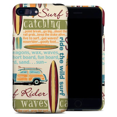 Apple iPhone 7 Plus Clip Case - Surf Words