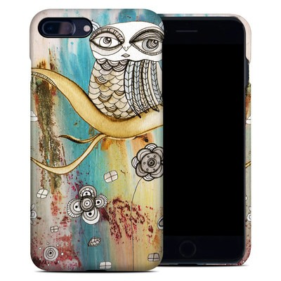 Apple iPhone 7 Plus Clip Case - Surreal Owl