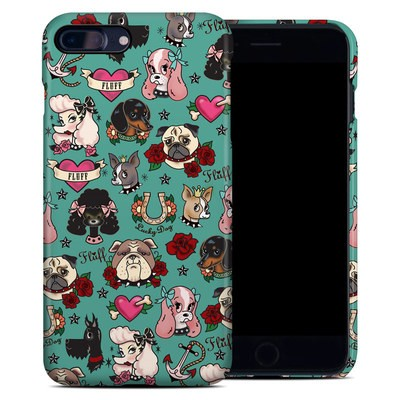 Apple iPhone 7 Plus Clip Case - Tattoo Dogs