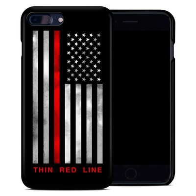 Apple iPhone 7 Plus Clip Case - Thin Red Line