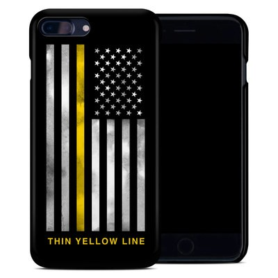 Apple iPhone 7 Plus Clip Case - Thin Yellow Line