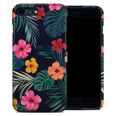 Apple iPhone 7 Plus Clip Case - Tropical Hibiscus