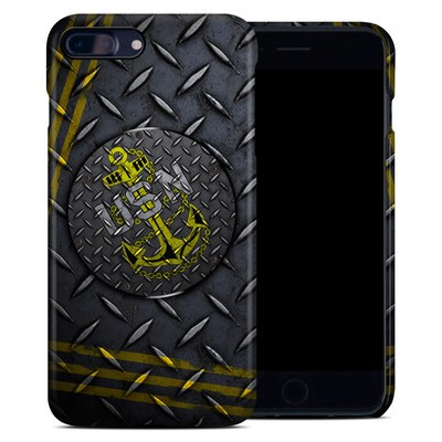 Apple iPhone 7 Plus Clip Case - USN Diamond Plate