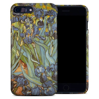 Apple iPhone 7 Plus Clip Case - Irises