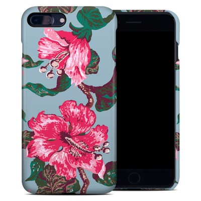 Apple iPhone 7 Plus Clip Case - Vintage Hibiscus