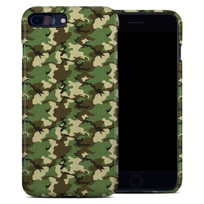 Apple iPhone 7 Plus Clip Case - Woodland Camo
