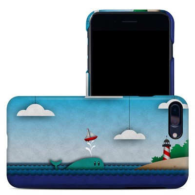Apple iPhone 7 Plus Clip Case - Whale Sail