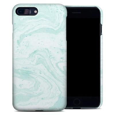 Apple iPhone 7 Plus Clip Case - Winter Green Marble