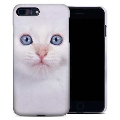 Apple iPhone 7 Plus Clip Case - White Kitty