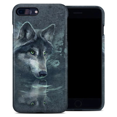 Apple iPhone 7 Plus Clip Case - Wolf Reflection