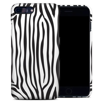Apple iPhone 7 Plus Clip Case - Zebra Stripes