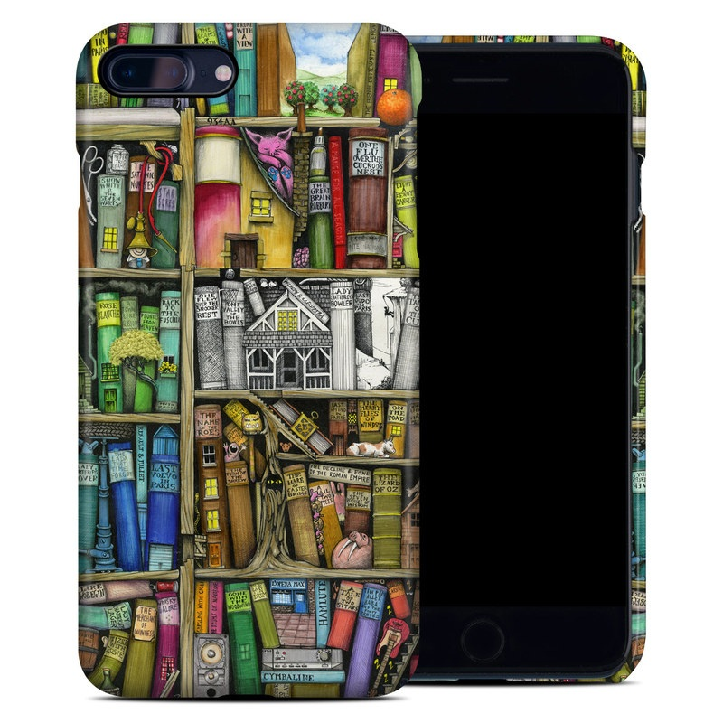 Apple IPhone 7 Plus 8 Clip Case Bookshelf