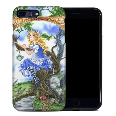 Apple iPhone 7 Plus Hybrid Case - Alice's Tea Time