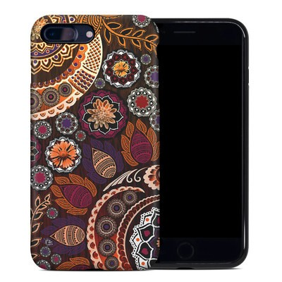 Apple iPhone 7 Plus Hybrid Case - Autumn Mehndi