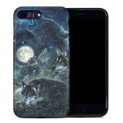 Apple iPhone 7 Plus Hybrid Case - Bark At The Moon
