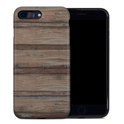 Apple iPhone 7 Plus Hybrid Case - Boardwalk Wood