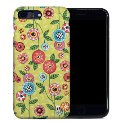 Apple iPhone 7 Plus Hybrid Case - Button Flowers