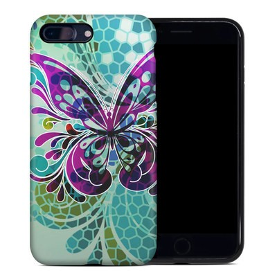 Apple iPhone 7 Plus Hybrid Case - Butterfly Glass