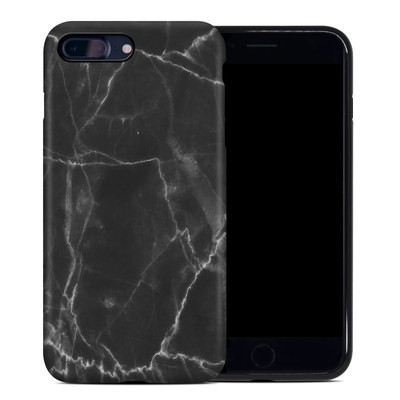 Apple iPhone 7 Plus Hybrid Case - Black Marble