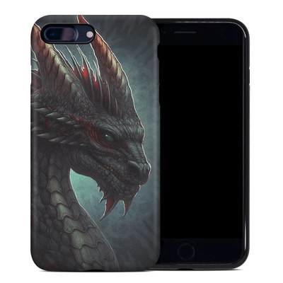 Apple iPhone 7 Plus Hybrid Case - Black Dragon