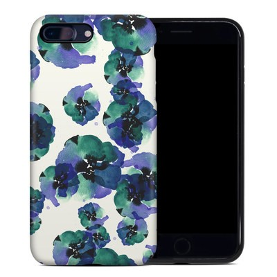 Apple iPhone 7 Plus Hybrid Case - Blue Eye Flowers