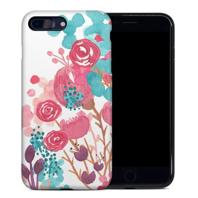 Apple iPhone 7 Plus Hybrid Case - Blush Blossoms