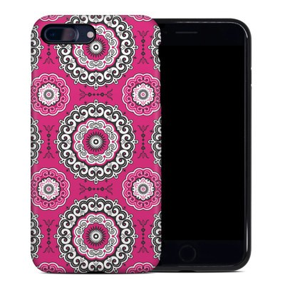 Apple iPhone 7 Plus Hybrid Case - Boho Girl Medallions