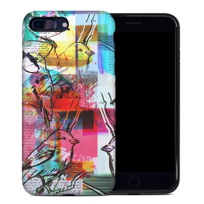Apple iPhone 7 Plus Hybrid Case - Book Birds