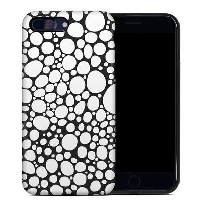 Apple iPhone 7 Plus Hybrid Case - BW Bubbles
