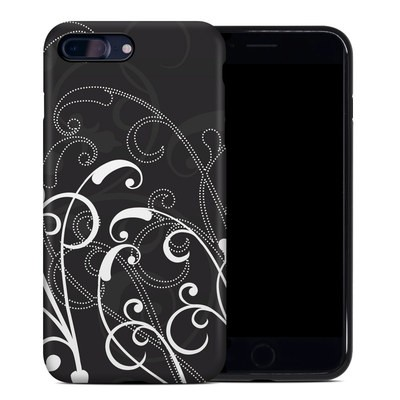 Apple iPhone 7 Plus Hybrid Case - B&W Fleur
