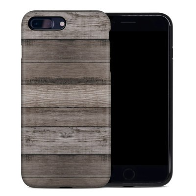 Apple iPhone 7 Plus Hybrid Case - Barn Wood